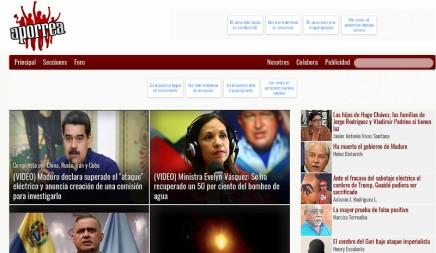 4η Διεθνής: όχι στη λογοκρισία τηςAporrea.org