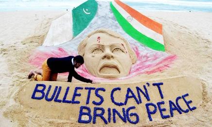 Όχι στον πόλεμο! Ελευθερία για το λαό τουΚασμίρ!