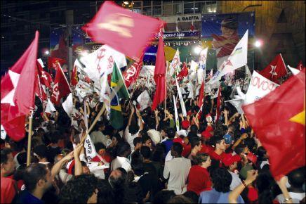 Βραζιλία: άνοδος τουPTμε αριστερέςαπώλειες