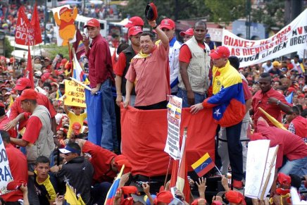 «Επανάσταση μέσα στην επανάσταση» στηΒενεζουέλα