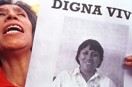 Καταδικάζουμε τη δολοφονία της DignaOchoa