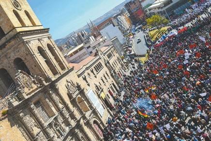 Επανάσταση πάνω απότα υψίπεδα τηςΒολιβίας