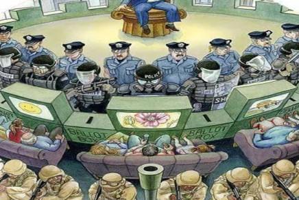 H πολιτικής της ένοπλης παγκοσμιοποίησης