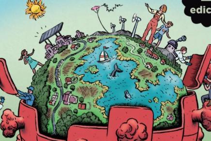 Οικολογική συμβολή για την κοινωνία πουθέλουμε