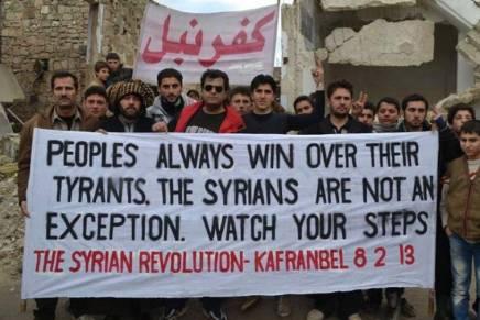 Συρία: Η διεθνιστική αλληλεγγύη αναγκαία όσοποτέ!