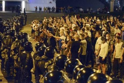 Λευκορωσία: Όχι στην καταστολή από τονΠούτιν!