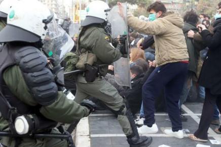 Grèce: contre les universités du fric et des flics!