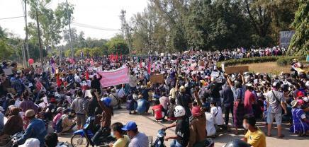 Αλληλεγγύη με το λαό τουΜυανμάρ!