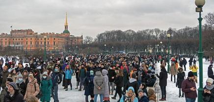 Ρωσία: Πώς εξηγούνται οι μαζικέςδιαμαρτυρίες