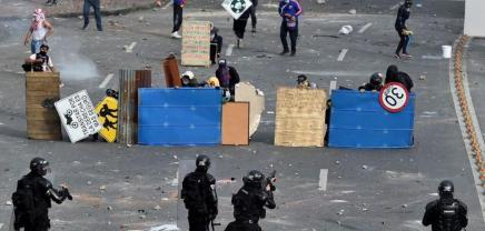 Αλληλεγγύη με τον κολομβιανόλαό!